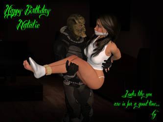 Birthday Abduction by AlucardsSpirit