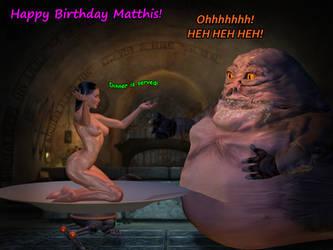 Matthis Birthday Request 2016 by AlucardsSpirit