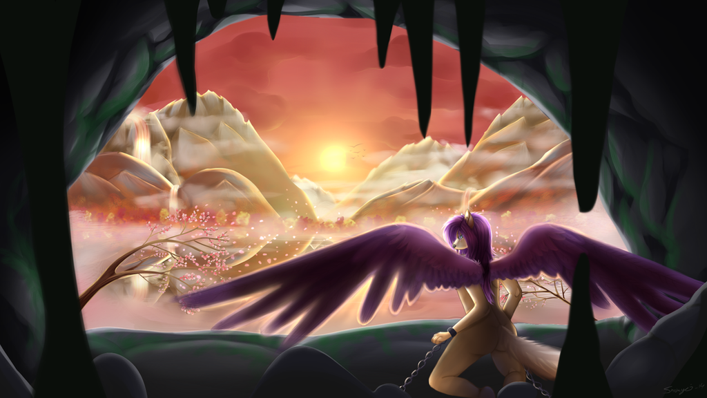The World's waiting by Snowyzi