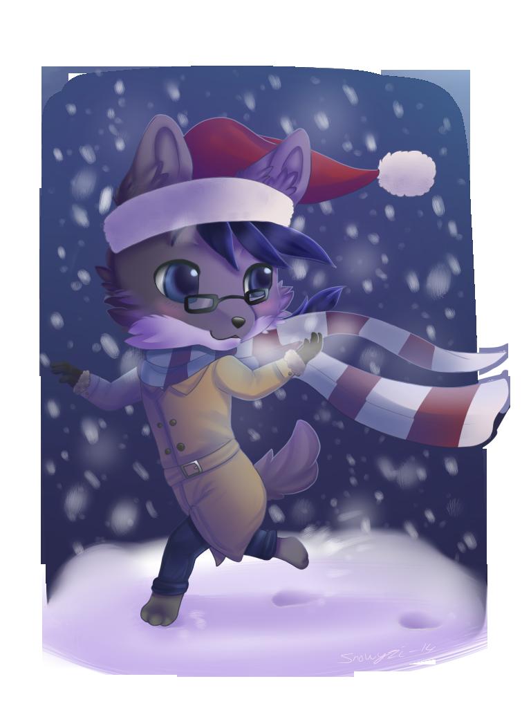 Commission - Snowy days by Snowyzi