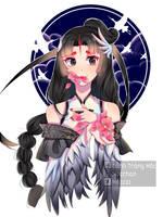 Fanart Geisha Identity V by Mocczz