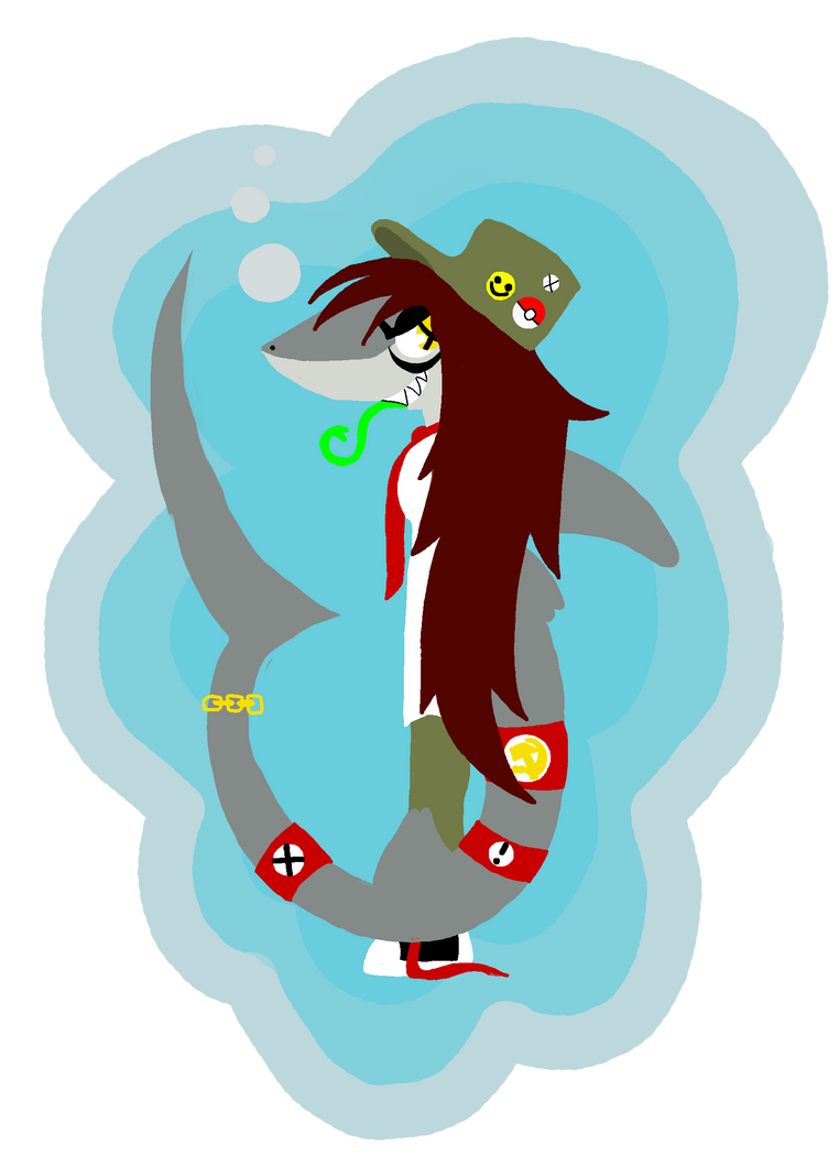 here sharky sharky sharky by dragononawagon
