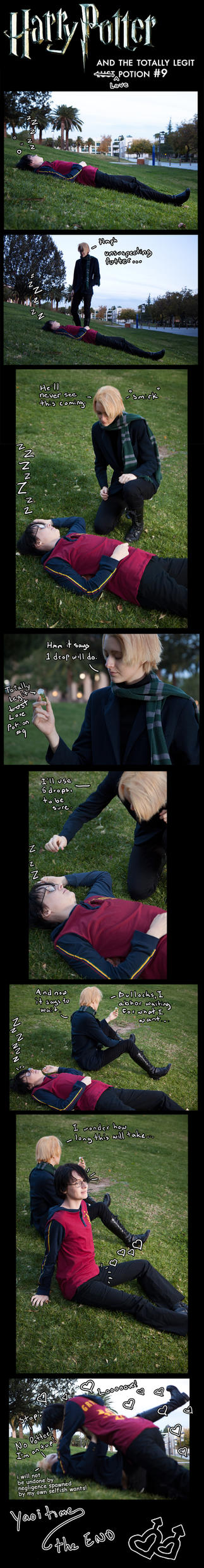 Harry Potter Love Potion by TheSinisterLove
