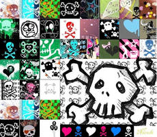 Skulls by searial-killer