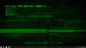 Animated Matrix Desktop