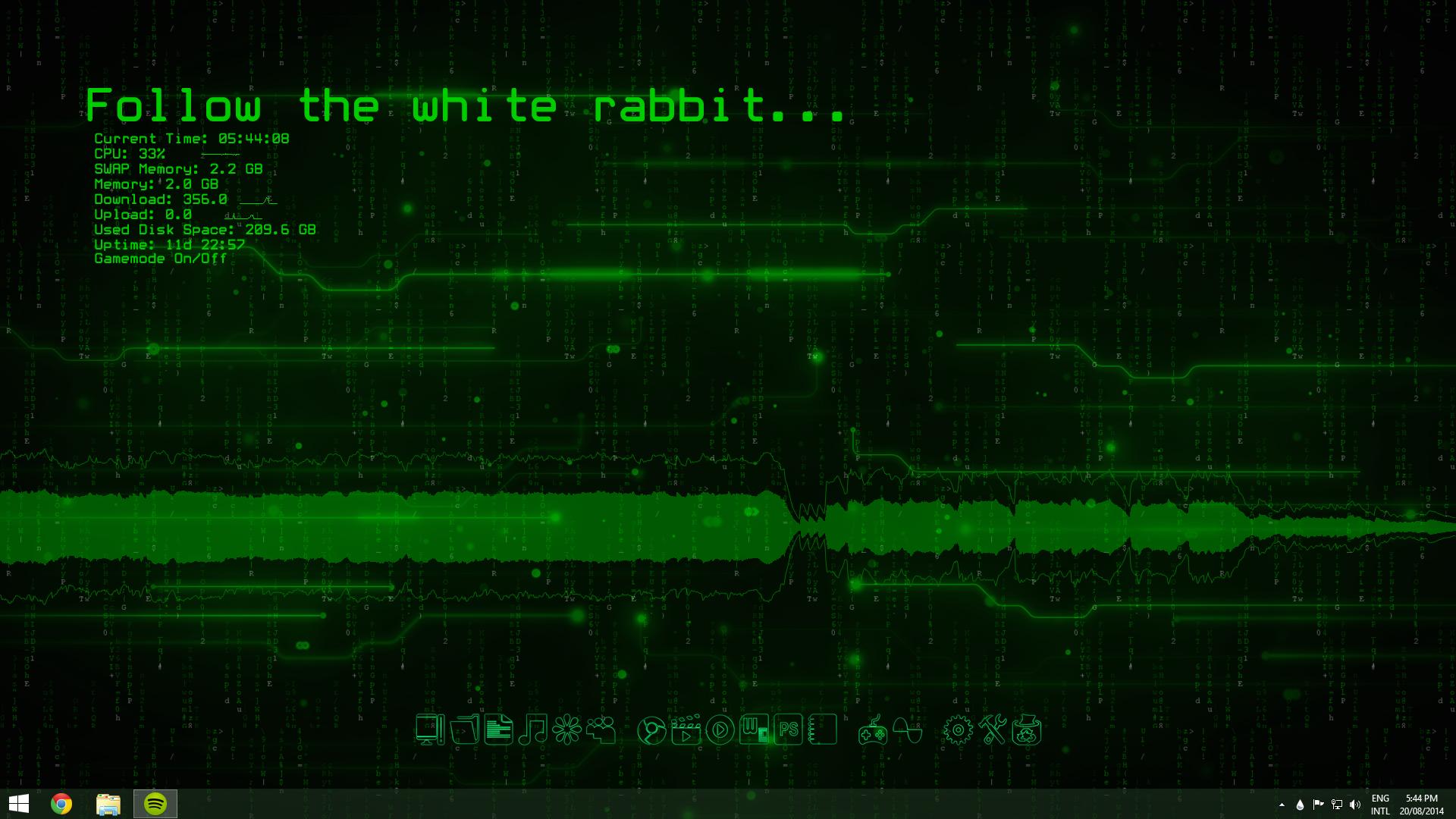 animated matrix desktop by leoflare on deviantart