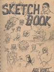 the cover of my sketchbook