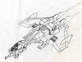 one wicked starfighter by alexvontolmacsy