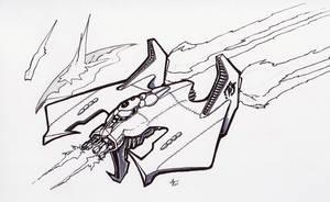 a wing commander fanart by alexvontolmacsy