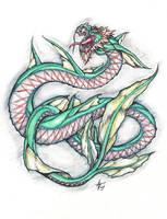 an oriental dragon by alexvontolmacsy