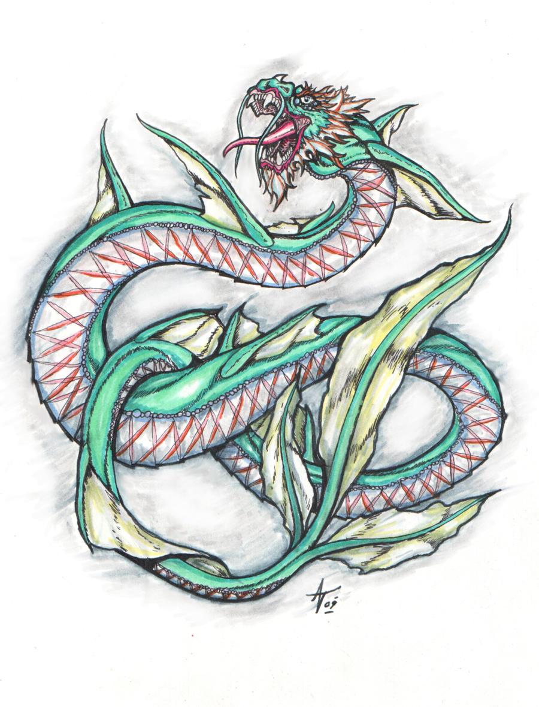 an oriental dragon by alexvontolmacsy on DeviantArt