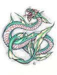 an oriental dragon