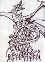 heylook its a dragon by alexvontolmacsy