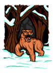 a lion in winter?