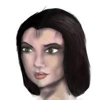 SAI made Test Portrait by alexvontolmacsy