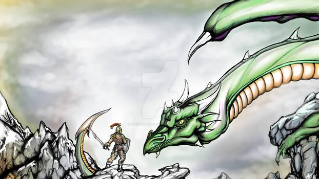 dragon faceoff