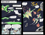first two pages of ongoing wing commander comic