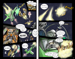 page 3 and 4 of the wing commander weekly comic