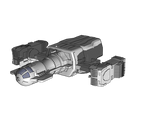 a spaceship I'm building to use in a project!