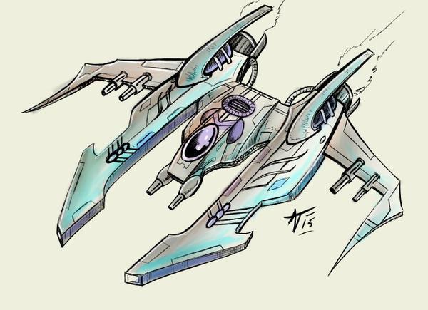 Quick Fighter Concept by alexvontolmacsy