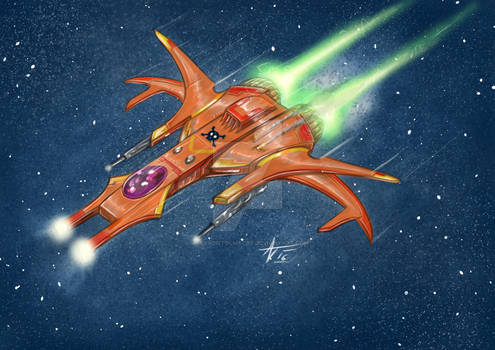 another space fighter..     ahhh.. cathartic :D