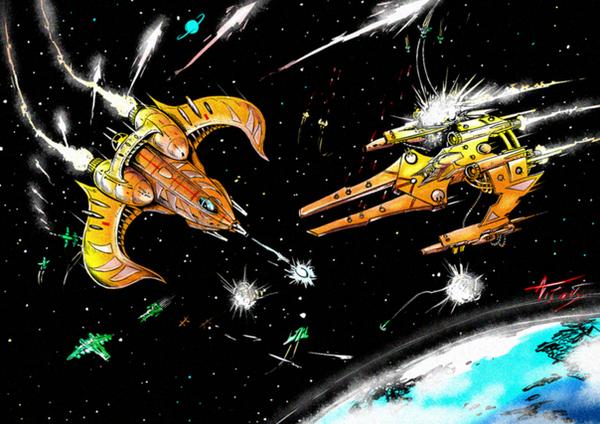 wing commander battle by alexvontolmacsy
