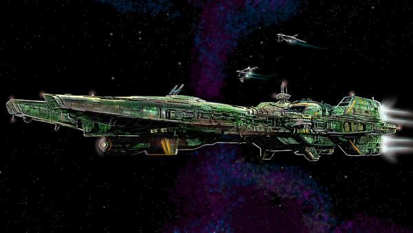 klavs 3d model paint over TCS Concordia by alexvontolmacsy