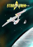 a 50th anniversary Star Trek tribute :D by alexvontolmacsy