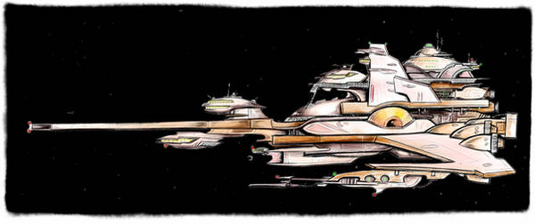 a hakaga carrier from wing commander fleet action by alexvontolmacsy