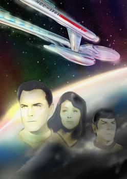 And Captain: It's the Enterprise.