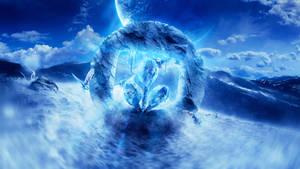 Desktopography 2013: Icy Winds by AbbeyMarie