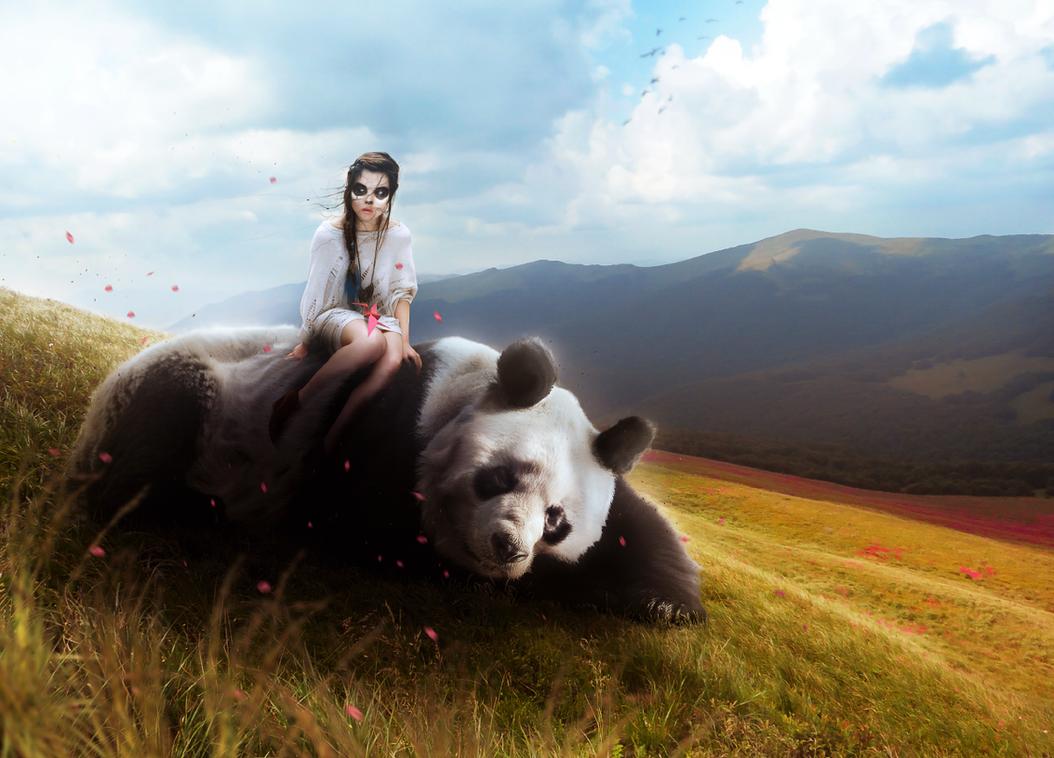 Panda Girl by AbbeyMarie