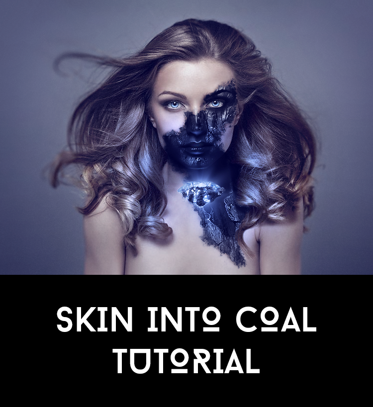 Skin Into Coal Tutorial by AbbeyMarie