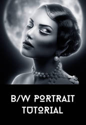 Black and White Portrait Tutorial by AbbeyMarie