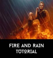 Dynamic Fire and Rain Tutorial by AbbeyMarie