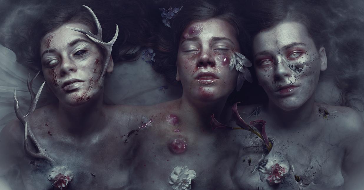 War Pestilence Death 2016 by AbbeyMarie