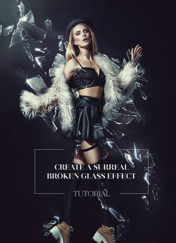 How to Create a Broken Glass Effect in Photoshop