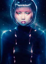 Cyber Anime (Tutorial) by AbbeyMarie