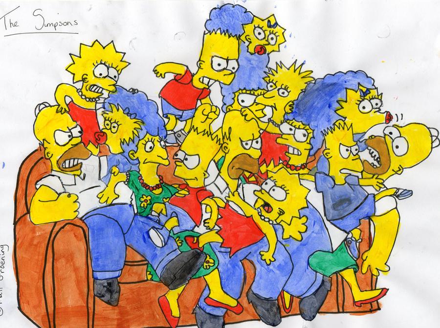 The Simpsons - Generations by MissAmyLovett