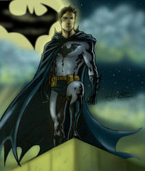 Batman Unmasked Commission by Sean-Loco-ODonnell
