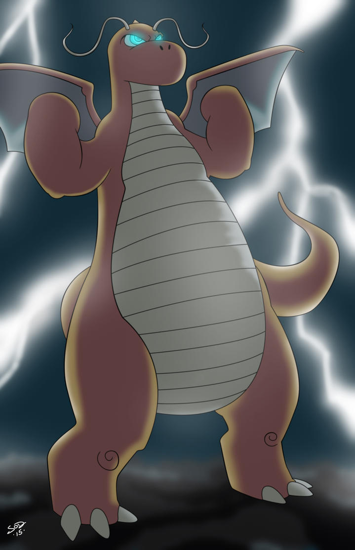 Dragonite by Sean-Loco-ODonnell