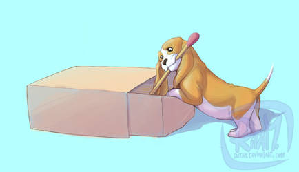 Puppy Surprise Box 4 by ritam