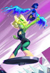 Peridot and Lapis New Form
