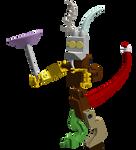 LEGO MLP: Discord Figure
