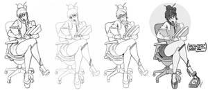 Secretary by ReiQ