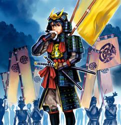 sengoku samurai by yukinoshin