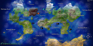 Map of Corelisto