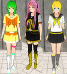 Yandere sim skin Update: Vocaloids