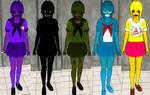 Yandere sim skin Update: Five nights at Freddys