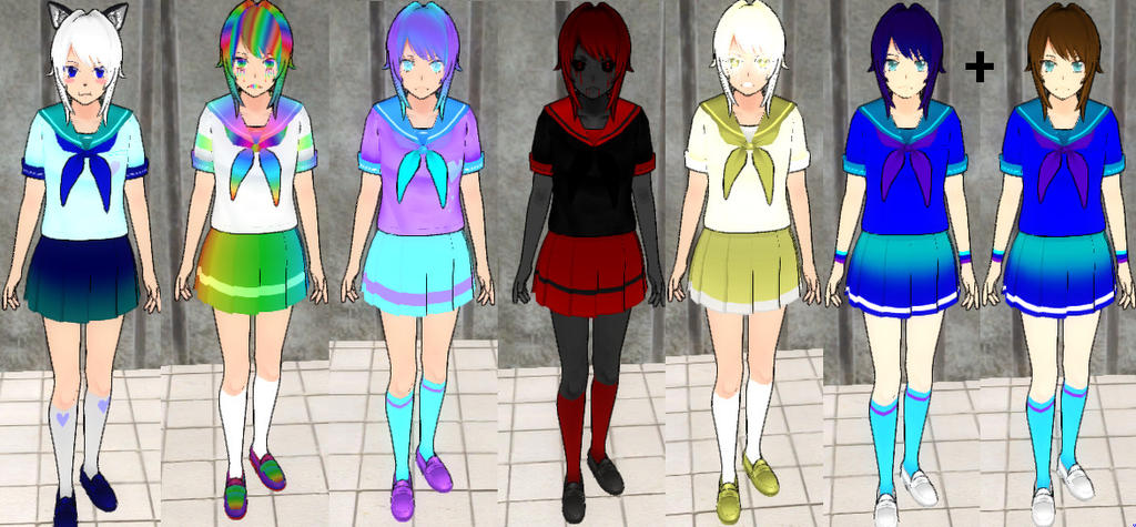How To Make A Skin For Yandere Simulator Youtube - Imagez co